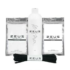 Zeus Purify Cleaning Kit-Cleans Bongs Pipes Glass Plastic Ceramic Etc. New