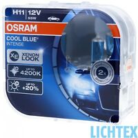 H11 OSRAM Cool Blue Intense Stylischer Look Scheinwerfer Lampe DUO-Pack-Box NEU