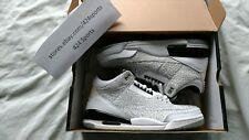 Nike Air Jordan retro 3 III Flip size 9 315767 101 White Black Silver
