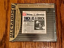 Jethro Tull Thick As A Brick NEW MFSL GOLD CD