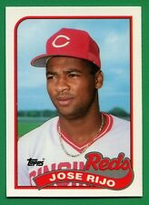 1989 Topps Tiffany Jose Rijo #135 Mint Reds