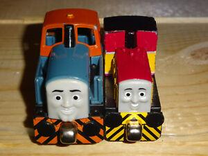 Thomas Train & Friends Dart & Den Engines 2010 Mattel Take N Play Along diecast