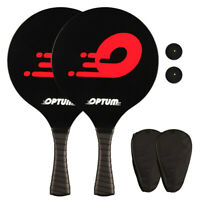 2021 Beach Tennis Racket Matkot Paddles Stick With Cover Bag Beginners Racquet.