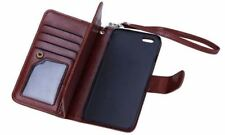 Leather Wallet Cases with Strap for Samsung Mobile Phones