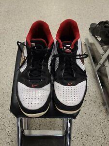 NIKE Size 10.5 Men's Autographed Air Baseline Shoes 386240-108