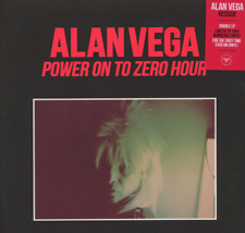 Double Vinyl LP Alan Vega of Suicide - Power On To Zero Hour New 2LP - 2018