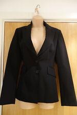 Karen Millen Black Tailored Jacket - Size 10