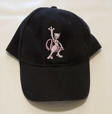 Pokemon 2006 World Championships Mewtwo Black Hat Adjustable Strap New Promo TCG