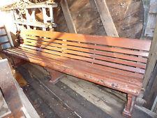 V.R. Platform bench seat