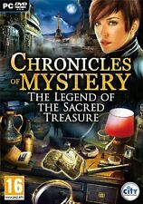Chronicles of Mystery - The Legend of the Sacred Treasure For PC (New & Sealed)