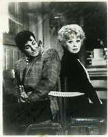 Lucy Lucille Ball Mike Connors Jsa Coa Hand Signed 8x10 Photo Autograph