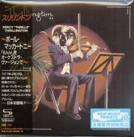 PERCY 'THRILLS' THRILLINGTON-THRILLINGTON...-JAPAN MINI LP SHM-CD Ltd/Ed G00