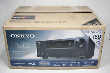 Onkyo TX-NR757 7.2-Channel Network A/V Receiver 8 HDMI Ins 2 Outs for 4K/60 Hz