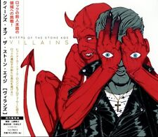 QUEENS OF THE STONE AGE-VILLAINS-JAPAN CD E25