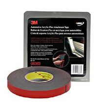 "3M Company 6383 7/8""X20 Yards Black Automotive Acrylic Attachment Tape"