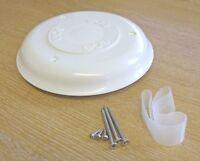 Boat roof ventilator ECS 'Ventair' type, white mushroom vent only   4200