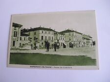 Piacenza - Borgonovo Valtidone Piazza De Cristoforis - non spedita f. p.