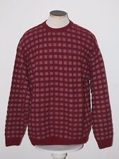 GIEVES & HAWKES of LONDON 100% Cashmere 4ply Knit Crewneck Sweater L