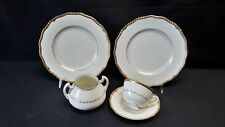 Royal Doulton V1877 Belvedere - Luncheon Plates Cup & Saucer Sugar Bowl (No Lid)