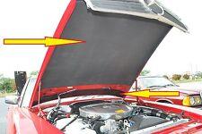 Mercedes Benz 450SL 380SL 560SL 450SLC 380SLC 280SL Hood Pad Kit Hood insulation