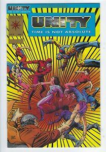 Unity #1 Gold edition VF/NM [Valiant 1992] Variant