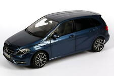 1:18 Mercedes-Benz B-Klasse W246 lotus-blau blue B-Class 2011 Dealer-Edition OEM