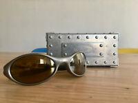 Vintage OAKLEY Jacket Sonnenbrille X-Metal Case 1995, sehr selten | Burton