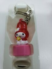 Vintage 1997 Sanrio My Melody Key Chain Ring Made In Japan exclusive light up