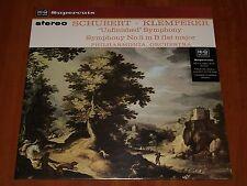 SCHUBERT SYMPHONIES 5 AND 8 OTTO KLEMPERER 1963 HI-Q RECORDS 180g VINYL LP New