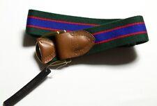 Polo Ralph Lauren Mens Cotton Blend & Leather Belt size XL