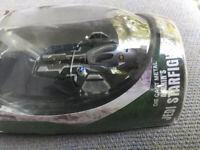 2005 Star Wars MicroMachine Titanium Series ANAKIN'S JEDI STARFIGHTER HASBRO NIP