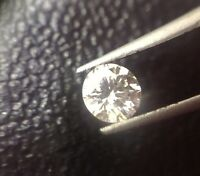 0.20ct Natural Earth Mined Diamond G-H Color SI2 Clarity Excellent Cut Untreated