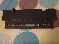 Apple Macintosh TV Black Plastic Rear Port Cover Mac Panel Case 922-0884 RARE