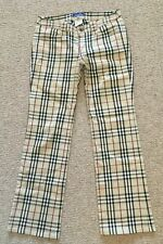Burberry Blue Label Nova Check Trousers - Size 36 (Approx UK6)