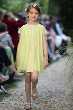 Bonpoint Baby Green Dress Tulle 3 anni