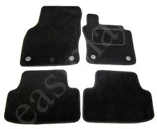 Skoda Octavia MK3 Carpet Car Mats 2013 onwards Tailored Black 4pc Floor Mat Set