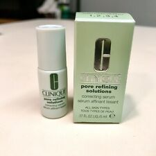 Clinique Poor Refining Solutions Anti-Aging Correcting Serum .17 oz New In Box