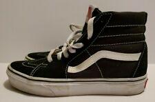VANS Sk8 Hi Black White clean!! Skate Shoes Men Size 5 Women's 6.5 Canvas High