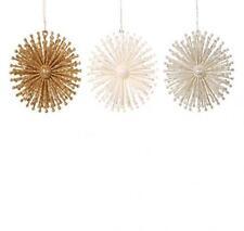 Christmas Decoration Christmas Tree Ornamanet Glitter Radiant Ball - 4 Inches