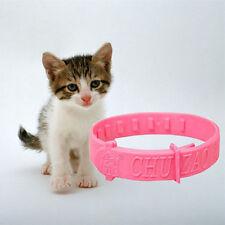 Nuevo  Seguridad Collar Ajustable Correa Cuero PU Para Perro Gatos Mascotas