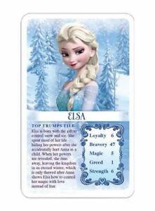 FROZEN Top Trumps Card Game Disney Frozen TOP TRUMP GAME