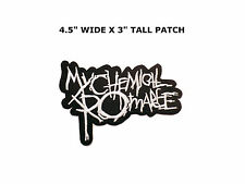 My Chemical Romance Rock Band Patch Sew Iron On Embroidered Music Heavy MetaCORE