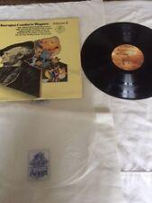 Karajan Conducts Wagner Album 2 Vinyl Lp  ANGEL RECORDS S-37098