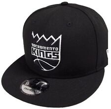 NEW Era Sacramento Kings NBA BLACK WHITE 9 FIFTY Snapback Cap Limited Edition