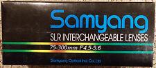 Samyang SLR Camera Lens 75-300mm F4.5-5.6 for NIKON Auto SLR Macro Zoom