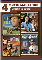 4 WESTERN ADVENTURES (THE FAR COUNTRY / WHISPERING SMITH / THE PLAINSMAN / (DVD)