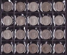 New Zealand HalfCrown Set all dates from 1933 to 1963 20 Coins