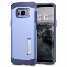 Galaxy S8 Case, Genuine SPIGEN Slim Armor Heavy Duty Kick-stand Cover