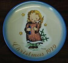 SCHMID/GOEBEL Lt Ed Plate: Christmas 79 Starlight Angel