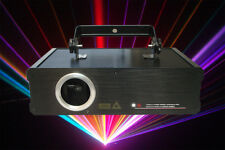 1W / 1000mW RGB Full Color ILDA DJ Laser Stage Lighting
